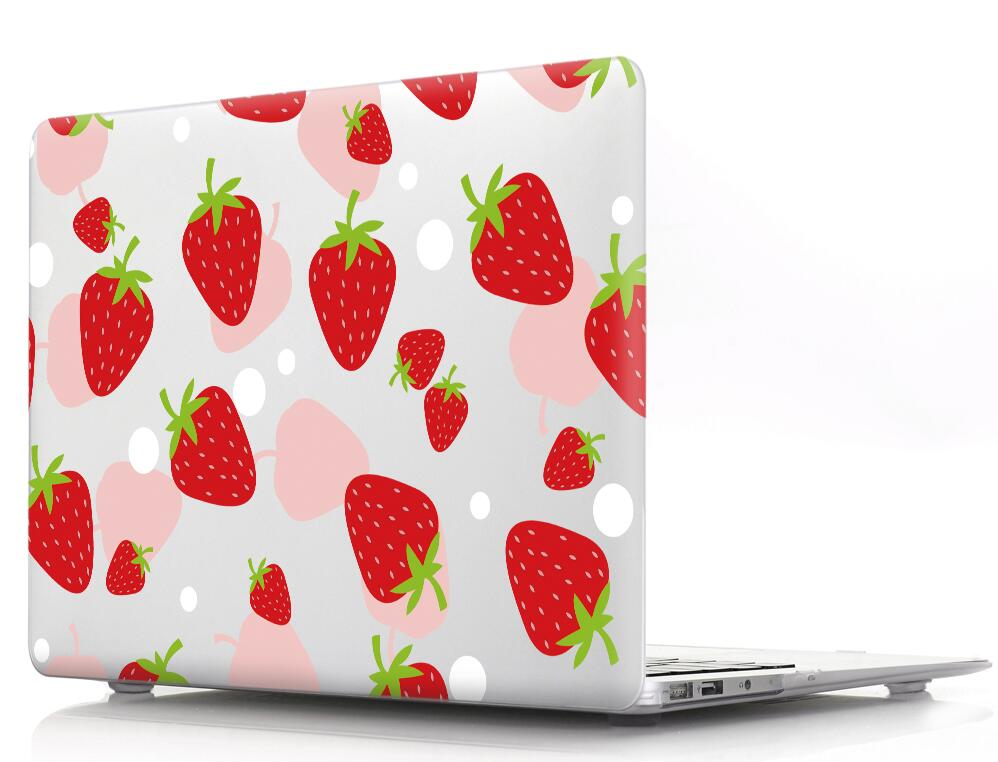 Cartoon fruit Pattern Protective Cover Shell Case for Apple Mac MacBook Air 11 13 Pro 12 13 15 Touch Bar Fashion Bag Sleeve in Laptop Bags Cases from Computer Office
