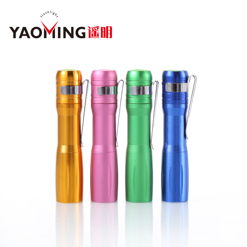 Wholesale Penlight 1000LM Cree LED Flashlight Torch Pocket Light Waterproof Lantern By AA Battery Powerful Led For Hunting DHL free shipping tank007 e10 cree r3 flashlight led pocket clip medical light torch penlight aaa flashlight penlight medical