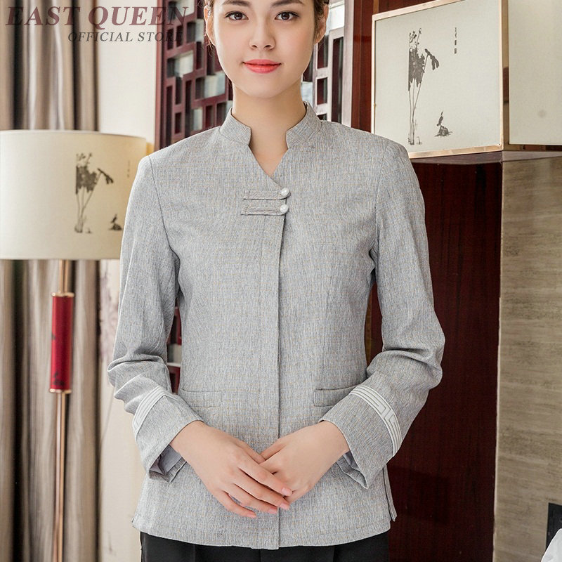 Housekeeping Uniforms Hotel Supplies Maid Hotel Cleaner Uniform Workwear Cleaning Service Uniform Waitress Clothing DD912