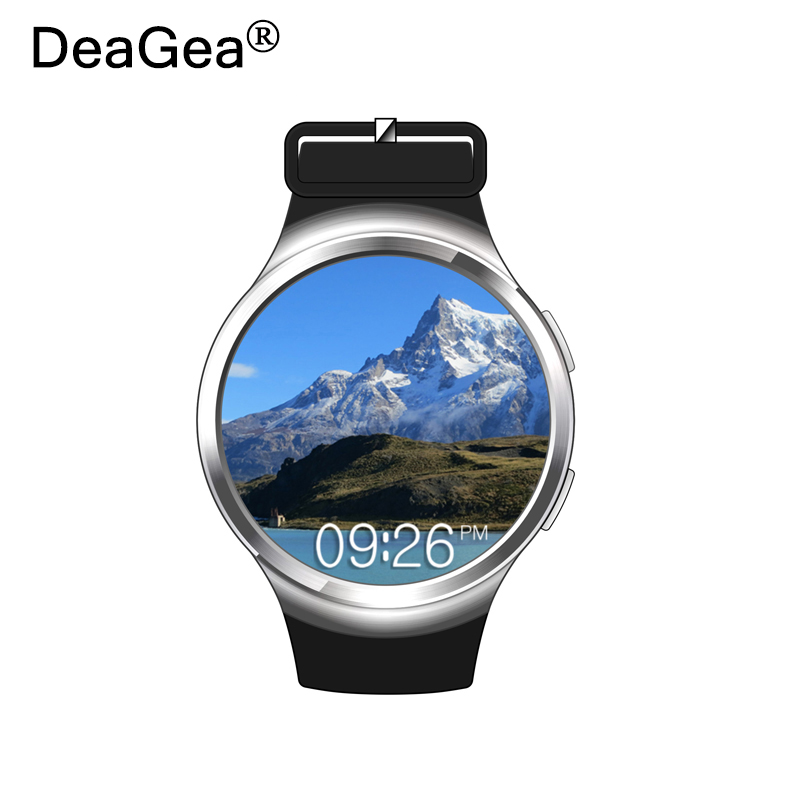 DeaGea smart watch X3 plus MT6580 5 1 1G 8G Touch Screen Support Pedometer Fitness Tracker