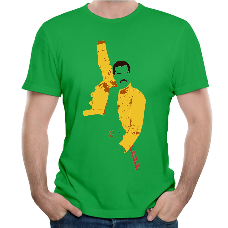 42c3918c2c8 3D Print Freddie Mercury T Shirt Queen UK Vintage Rock Bands Tees Summer T-shirt  Plus szie Hot sale
