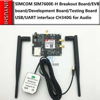 SIM7600E-H/SIM7600A-H/SIM7600SA-H/SIM7600JC-H Breakout Board/EVB board/Development Board/Testing Board USB/UART CH340G for Audio - DISCOUNT ITEM  0% OFF All Category