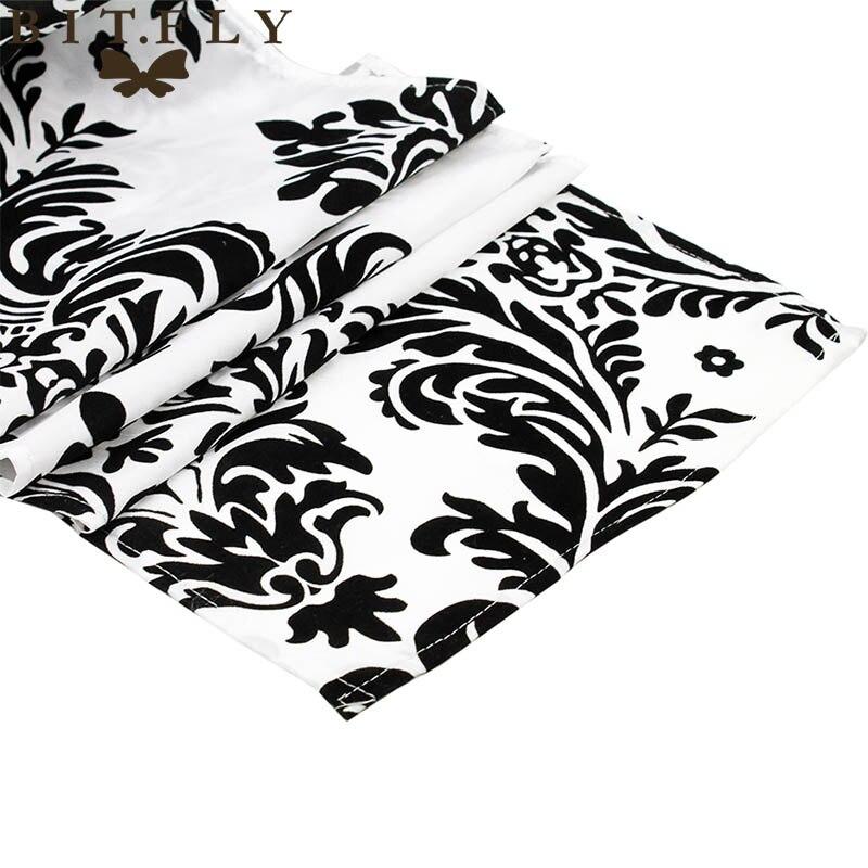 10 stks Luxe 30x275 cm Zwart wit Massaal Tafellopers Kwaliteit Tafelkleed Bruiloft tafellopers bruiloft thuis decoratie-in Tafellopers van Huis & Tuin op  Groep 3
