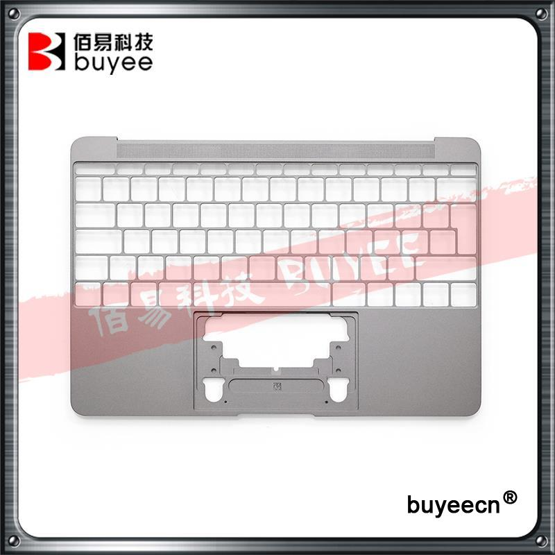 NEW Genuine 12 Inch A1534 Palm Rest 2016 Year For Macbook Air Retina A1534 Palmrest Top Case Topcase UK EU Layout Replacement genuine new 593 1604 b 923 0441 for macbook air 13 inch a1466 trackpad touchpad ribbon flex cable 2013 2014 2015 year
