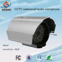 SIZHENG SIZ-190 Водонепроницаемый Аудио Микрофон для видеонаблюдения камеры видеонаблюдения для видеонаблюдения