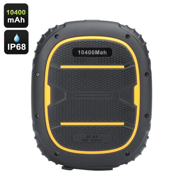 Kenxinda max 7 ip68 de alta qualidade banco do poder 10400 mah carregador de volta à prova d' água para iphone para samsung para lg smartphone bateria