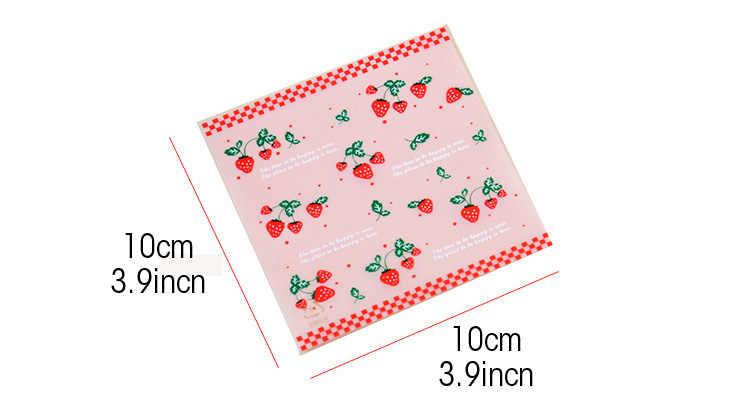 20 шт 10x10 см конфеты, печенье сумки с прозрачные пакеты пластиковый подарочный мешок свадьба домашняя еда для вечеринки упаковка дети День Рождения мультфильм