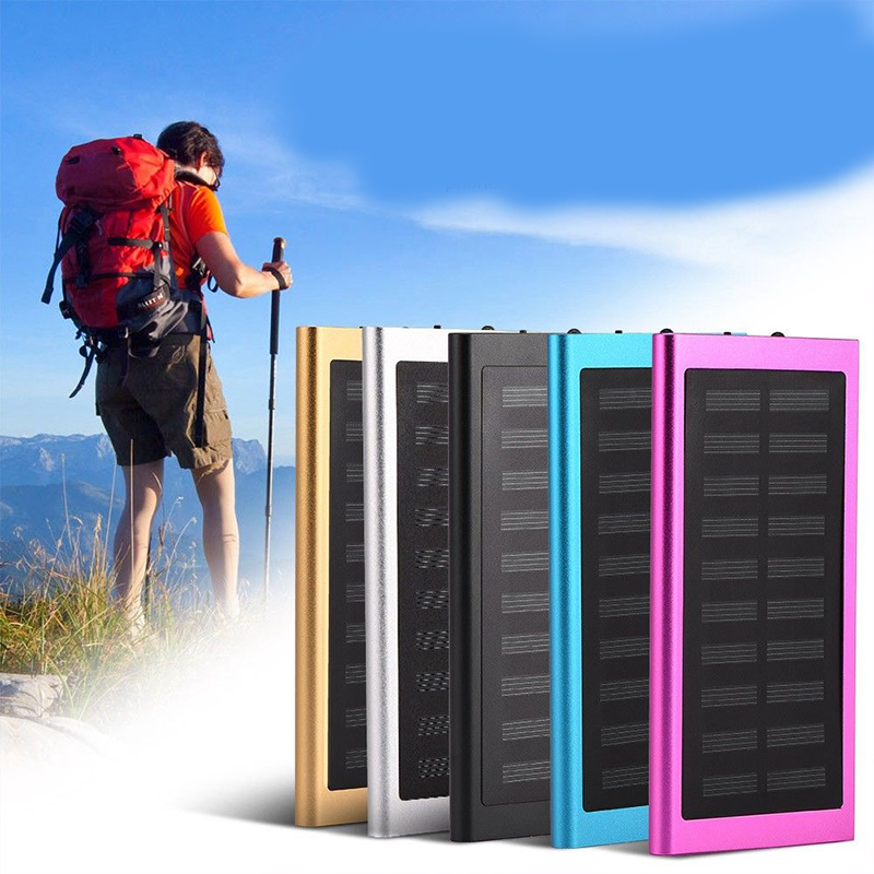 Solar Power Bank External Battery Case No Battery Pack Dual Usb Charger For Iphone Ipad Tablet Compatible For Xiaomi Huawei Agreeable Sweetness Cellphones & Telecommunications