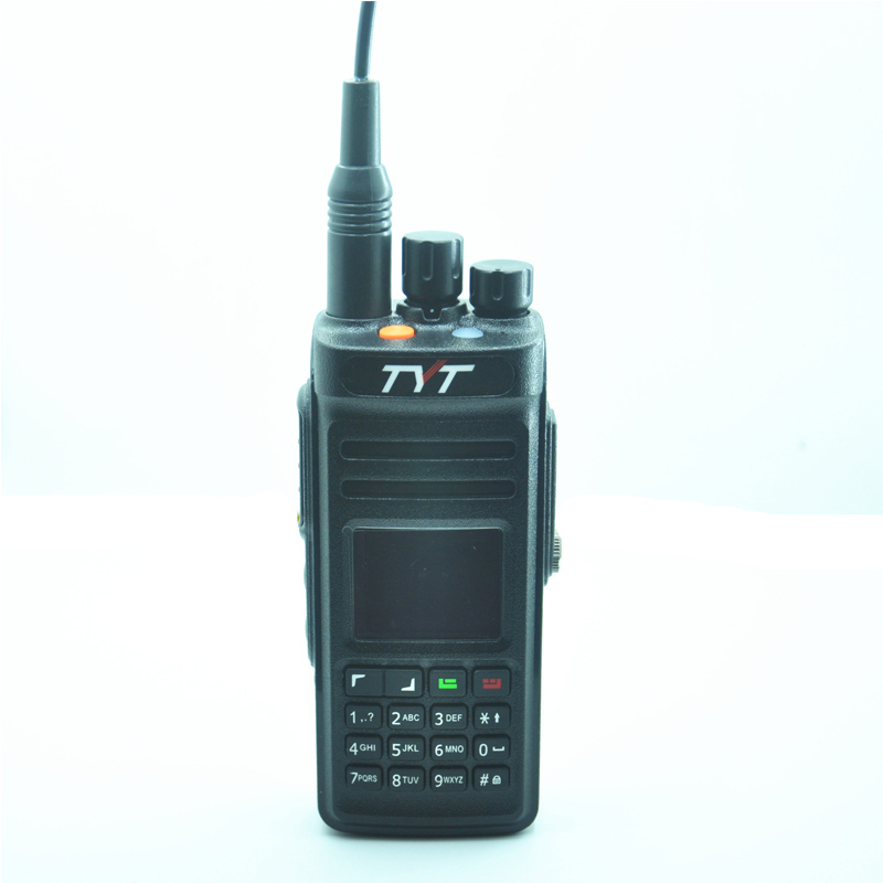 Water-proof Mic TYT MD-398 IP67 Water-proof DMR Digital Handheld Radio 10W UHF
