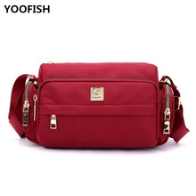 цена Fashion Women Handbag New Nylon Small Bag Waterproof Leisure Shoulder Messenger bag Outdoor Casual small bag free shipping.