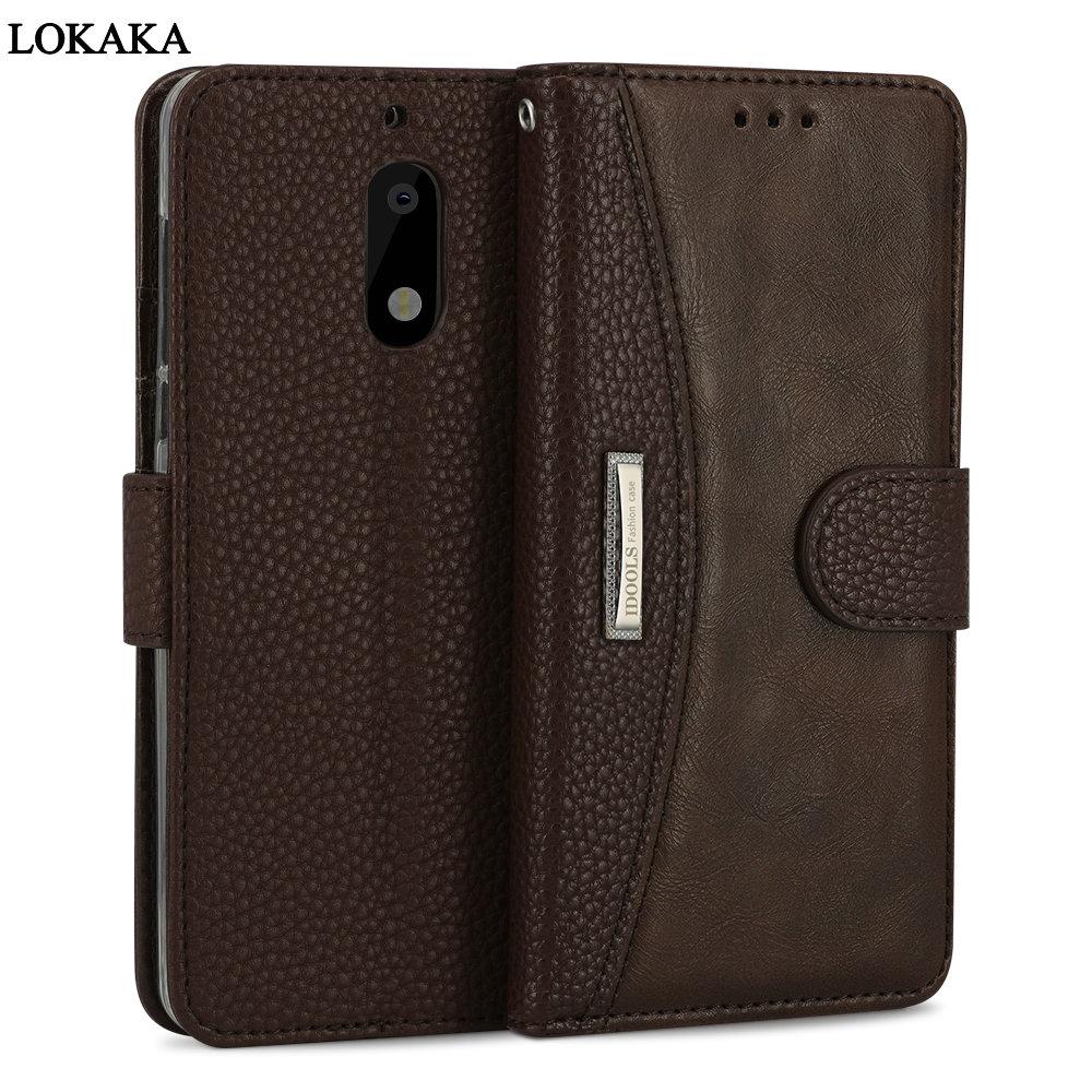 LOKAKA For Microsoft Nokia 6 Case Luxury