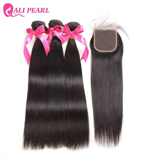 Aliexpress Buy Alipearl Hair Peruvian Virgin Hair With Closure