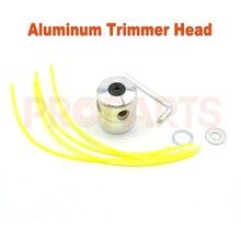 Universal 3 0mm 25cm Length Square Shape Trimmer Lines Aluminium Double Trimmer Head Set for Gasoline