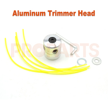 Universal 3.0mm 25cm Length Square Shape Trimmer Lines Aluminium Double Trimmer Head Set for Gasoline Brushcutter