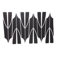 Car Styling 1set 15 Inches Carbon Fiber Wing Wheels Mask Decal Sticker Trim For VW Bora