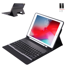 Case For iPad 2018 2017 9.7 WiFi Bluetooth Keyboard Leather Cover For iPad Air 2 Air 1 Ultra Thin Capa Fundas with Pen Holder