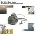 3300 Máscara de Poeira PM2.5 KN95 Filtro de Proteção da Poeira de Mina de Carvão-prova Anti-nevoeiro e Neblina Auto-inalação respirador purificador de ar-