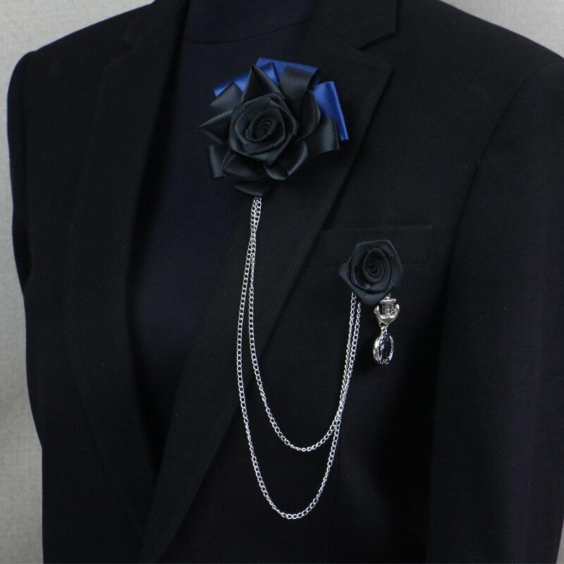 Envío gratis moda HOMBRES 2016 masculino femenino MC pectoral broche - Accesorios para la ropa - foto 4