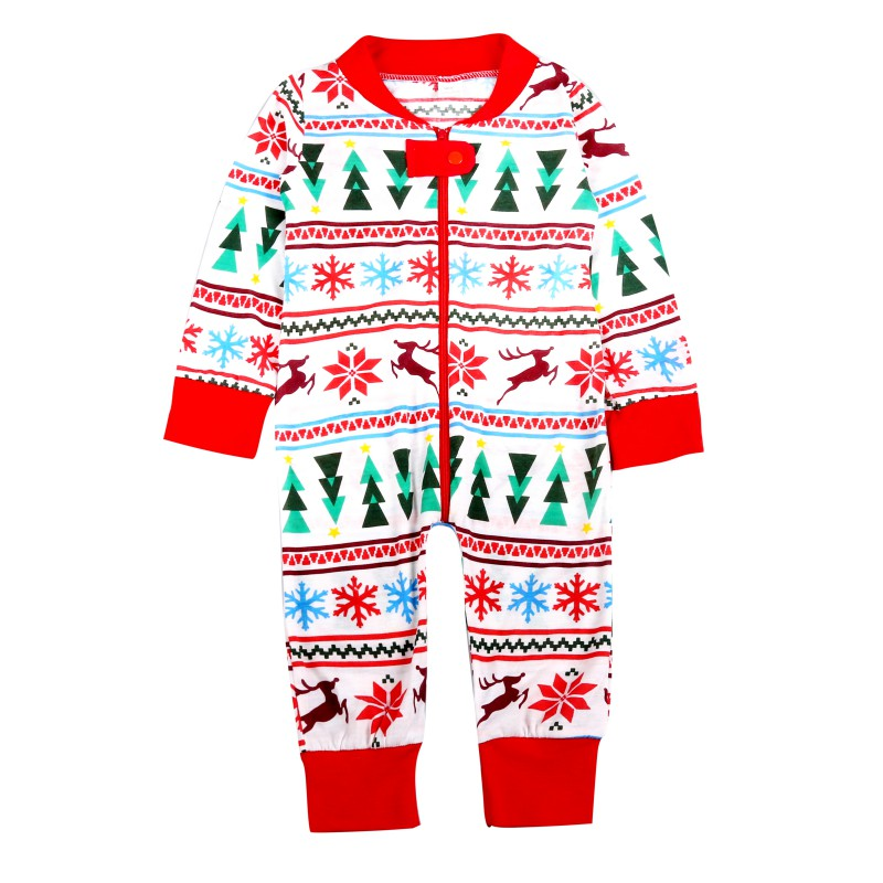 Christmas Family Matching Clothes Set Xmas Father Mother Kid