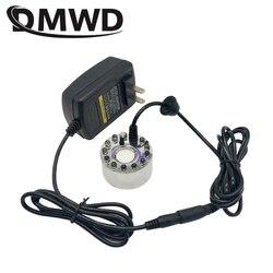 DMWD ultradźwiękowy nawilżacz powietrza elektryczny Mini mgła fontanna staw Atomizer Mist Maker Fogger głowica rozpylająca nebulizator parownik w Nawilżacze powietrza od AGD na
