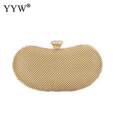 Pillow New Evening Clutch Bags For Women 2019 Fashion Party Luxury Gold Rhinestone Wedding Clutches Shoulder Purse Handbags цены