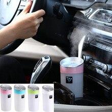 Автомобиль USB увлажнитель Ароматерапия эфирное масло диффузор Ультразвуковой увлажнитель воздуха Арома диффузор mist чайник 300 МЛ ruijie