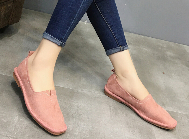 fashion  Women's shoes comfortable flat shoes New arrival flats  -669-7-  Flats shoes large size Women shoes