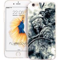 Coque Capa Vikings TV Series Clear Soft TPU Silicone Phone Cover For IPhone 7 7Plus Case
