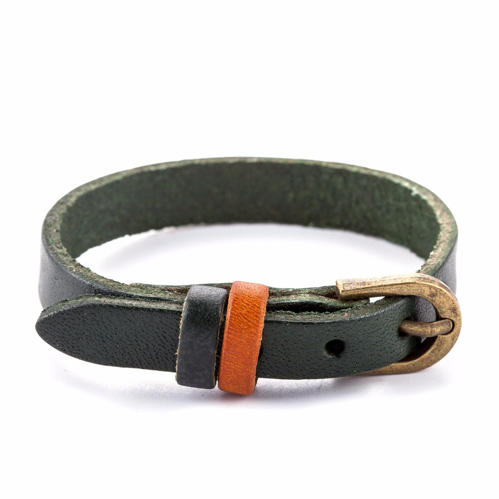 17 New Men Bracelet for Women Vintage jewelry Genuine Leather Bracelet pulseira feminina bracelets & bangles,bracelet men 16