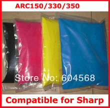 High quality color toner powder compatible for Sharp arc150/330/350 Free shipping