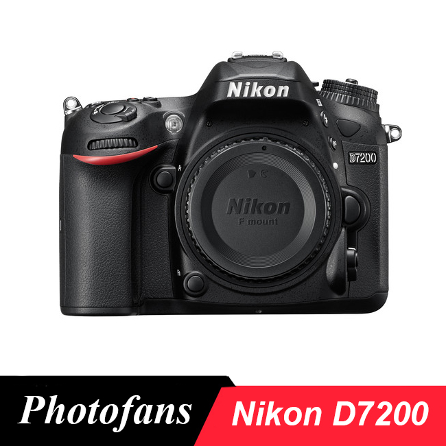 Nikon D7200 DX-format Digital SLR Camera Body, 24.2 Megapixel, DX-format CMOS, Wifi, 51 Point AF, (Brand New)(China)