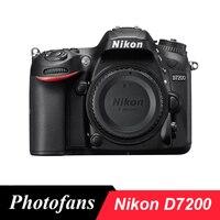 Корпус цифровой зеркальной камеры Nikon D7200 DX, 24,2 мегапиксельная, КМОП формат DX, Wifi, 51 точка AF, (Новый)