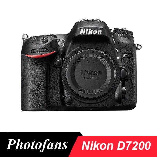 Nikon D7200 boîtier d'appareil photo reflex numérique au format DX, 24.2 mégapixels, format DX CMOS, Wifi, AF 51 points, (tout neuf)