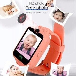 Детские умные часы для детей, цветные сенсорные детские часы, экстренные вызовы, HD фото, 1,5-дюймовый дисплей, версия для игр, подарок