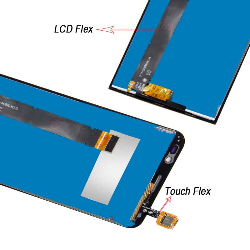 Free Shipping For ASUS Zenfone GO TV ZB551KL X013D Touch Screen Digitizer Glass LCD Display Assembly Accessories Replacement