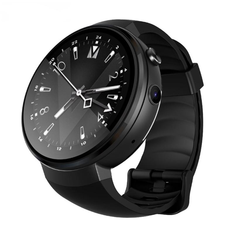 2018 GPS Smart Watch Phone Men Z28 Android 7.0 1GB+16GB Smartwatch Heart Rate Support WiFi Nano SIM Card 4G Smartwatch Men