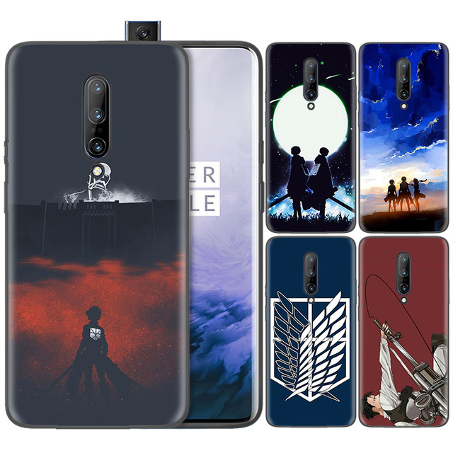 Attack on Titan Soft Silicone Case Cover OnePlus Models
