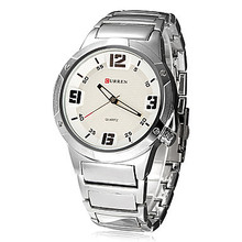2016 Full Steel Men montres homme horloge Military Watch hommes complet acier montre CURREN hommes Quartz sport montres hommes Relojes