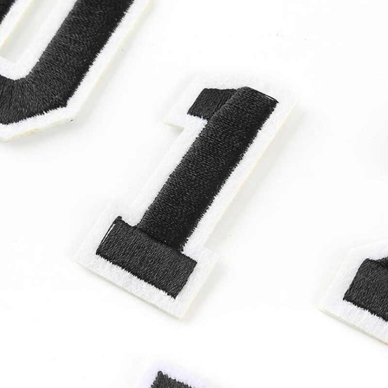 Spot ดิจิตอลเย็บปักถักร้อยผ้าสติกเกอร์แผนที่ดิจิตอล Diy ลาย Theme Applique Patch เสื้อผ้าคาวบอยกระเป๋าเป้สะพายหลังแฟชั่น