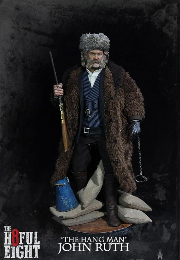 1/6 The Hateful Eight John Ruth The Hang Man Action Figure Collectible Model Toys