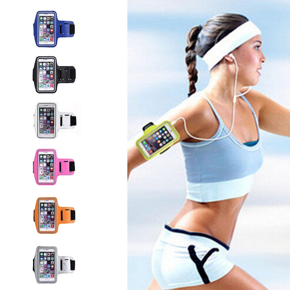Mobile Phone Fashion Holder Running Yoga Gym Sports Armband Arm Band Case Cover Holder For Mobile Phones Universal  Handbags