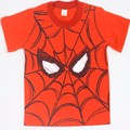 Summer Style Cotton Spiderman Boys T Shirts Kids Clothing Tee Boys Outwear Child's Clothes Cool Fashion New Arrival