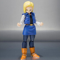 Action figure toys Dragon Ball Android 18 lazuli anime Movable joints doll colelction gift with box 13cm Y7589