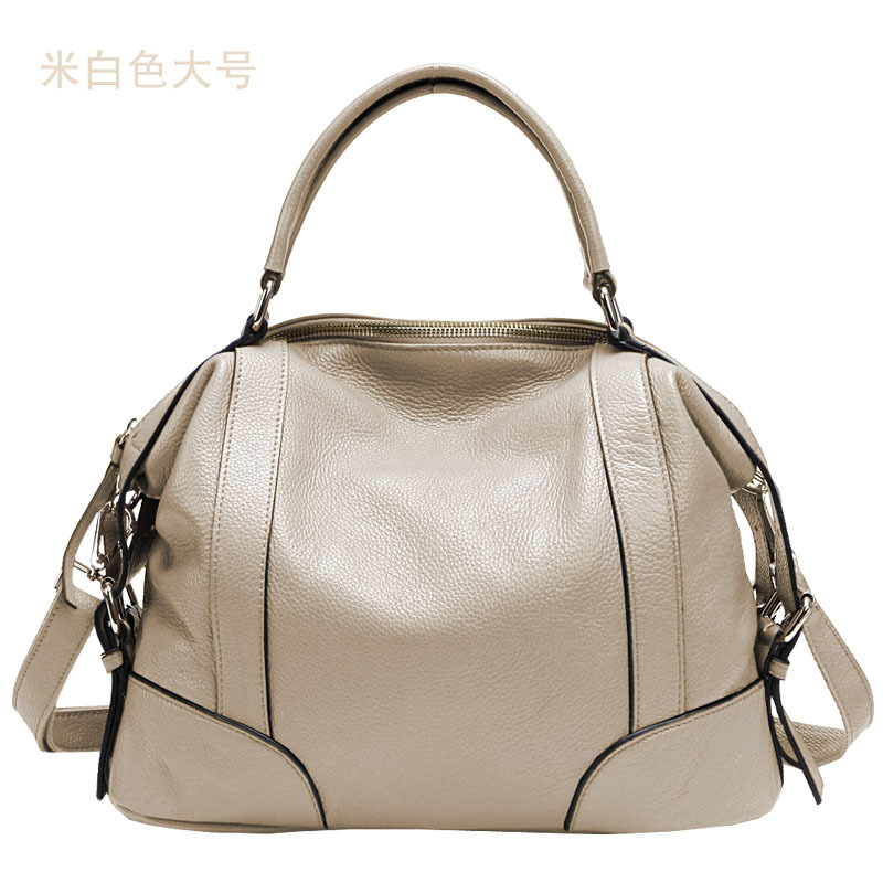 Aliexpress.com : Buy 2 Size 6 Colors Dumpling Bag Genuine Leather ...