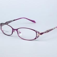 نظارات إطار المرأة الكمبيوتر النظارات البصرية واضحة قصر النظر وصفة طبية مشهد للنساء عدسة شفافة الإناث 99003