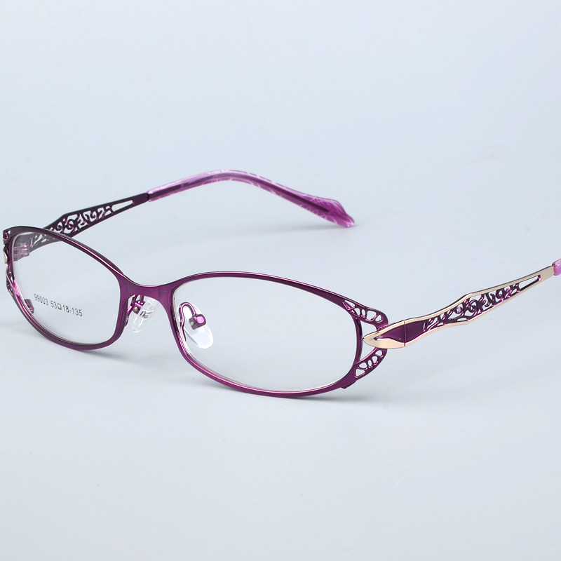Eyeglasses Frame Women Computer Optical Clear Glasses Myopia Prescription Spectacle For Women's Transparent Lens Female 99003