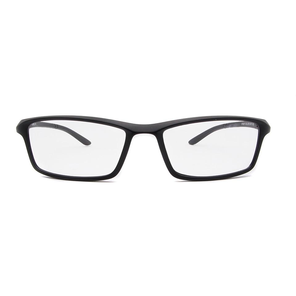 ESNBIE TR90 Men Optical Glasses Frame Square Eyeglasses Frame Male ...