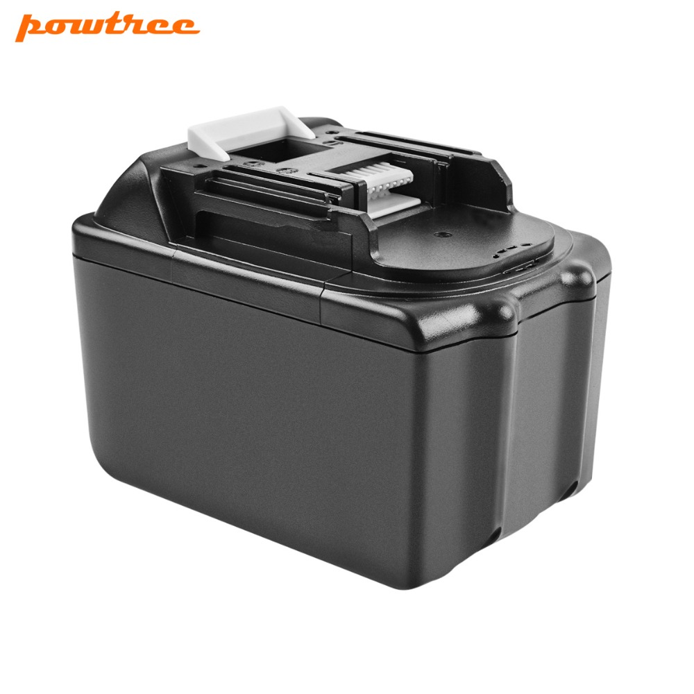 Powtree For Makita High Capacity 18V 9000mAh BL1830 Power Tools Lithium Battery Replacement  LXT400 BL1815 BL1840 BL1850 BL1860Powtree For Makita High Capacity 18V 9000mAh BL1830 Power Tools Lithium Battery Replacement  LXT400 BL1815 BL1840 BL1850 BL1860