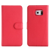 Luxury Flip Case For Samsung Galaxy S3 S4 S5 PU Leather Case I9300 I9500 I9600 PC
