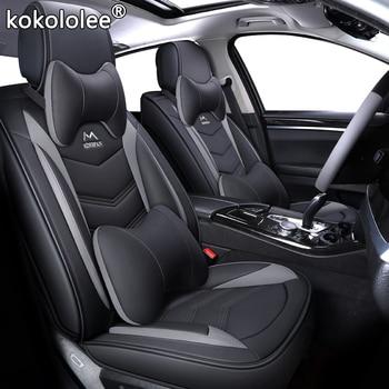 New Leather Cartoon Universal car seat covers for nissan teana j31 j32 terrano 2 tiida wingroad X-TRAIL t30 t31 t32 xtrail 2018